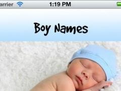 Boy Names 1.0 Screenshot