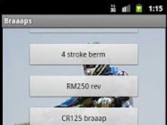 Braaaps (Motocross Sounds) 1.3 Screenshot