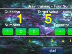 Brain Training - Four Numbers 1.3 Screenshot