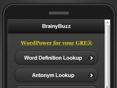BRAINYBUZZ Word Power 2.1 Screenshot