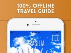 Brasília DF Travel Guide and Offline City Map 1.1 Screenshot