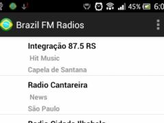 Brazil FM Radios 3.0 Screenshot