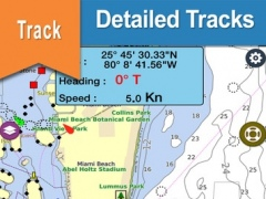 Brazil : Imbituba - Barra do Riacho offline nautical charts for boating cruising and fishing 2.4.1 Screenshot