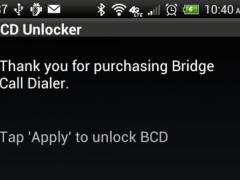 Bridge Call Dialer - Unlocker 1.0.3 Screenshot
