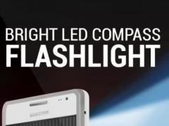 Bright Led Compass Flashlight 1.6 Screenshot