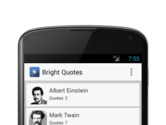 Bright Quotes 1.6 Screenshot