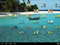 A Battery Widget Shield  Screenshot