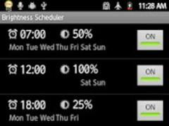 Brightness Scheduler 2.3.3 Screenshot