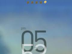 Brilliant GOlauncherEX Theme 1.0 Screenshot