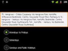 Bristol Bus Timetable Live 3.1.14 Screenshot