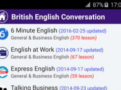British English Conversation 1.17.01.12 Screenshot
