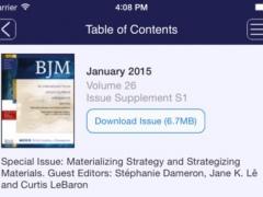 British Journal of Management 3.0.2132 Screenshot