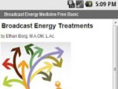 Broadcast Energy Free Basic 1.0 Screenshot