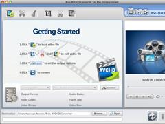Bros AVCHD Converter Mac 1.7.12 Screenshot