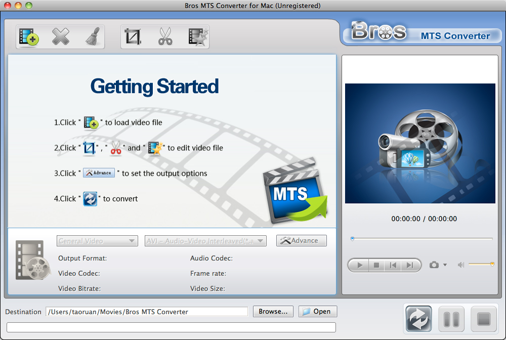 Mts video format to mpeg