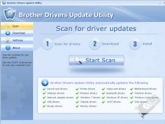 Brother Drivers Update Utility 9.7 Screenshot