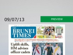 Brunei Times 4.1.99 Screenshot
