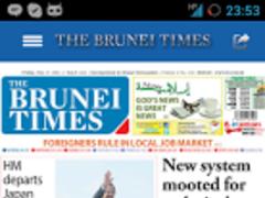 Brunei Times Mobile 2.0 Screenshot