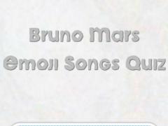 Bruno Mars Emoji Songs Quiz 1.0 Screenshot
