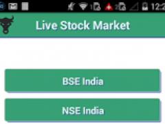 BSE NSE Live Market Watch 1.1 Screenshot