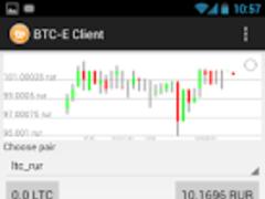BTC-E Client FREE 1.43 Screenshot