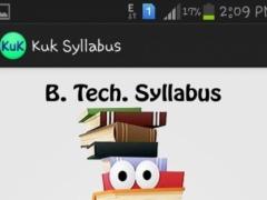 Btech Syllabus 1.2 Screenshot
