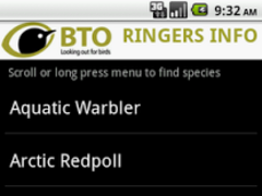 BTO Ringers Info 1.17 Screenshot