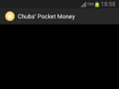 Bubble and Chubs' Pocket Money 1.0 Screenshot