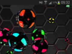Bubbles Black Live Wallpaper 1.0 Screenshot