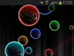 Bubbles Neon HD Live Wallpaper 1.0 Screenshot