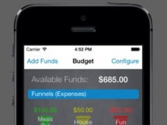 Buckets and Funnels PRO - Savings and Expense Budgeting 1.0.2 Screenshot