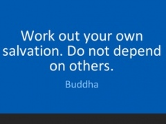 Buddha quotes with wallpaper 1.0 Screenshot