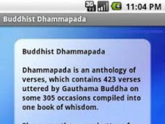 Buddhist Dhammapada 1.6 Screenshot