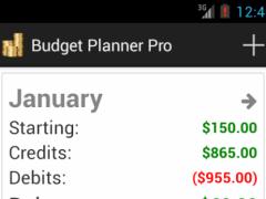 Budget Planner Pro 1.57 Screenshot