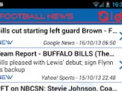 Buffalo Football News 1.2.3 Screenshot