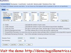 BugzillaMetrics 1.1 Screenshot