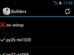 Buildbot Watcher 1.1.1 Screenshot