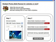 Bulk Photo Resizer 2.0 Screenshot