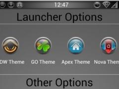 Bump Launcher Theme 1.1 Screenshot