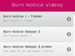 Burn Notice TV series Video 1.2 Screenshot