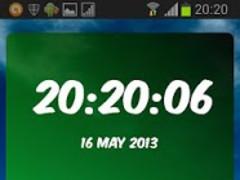 Bursaspor Digital Clock 3.10 Screenshot