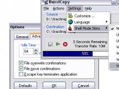 BurstCopy 2.700 Screenshot