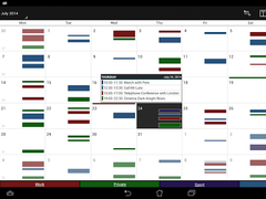 Business Calendar  Screenshot
