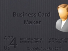 Business Card Maker 2.1 Screenshot