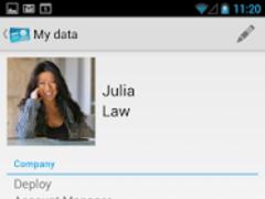 Share My Contact 1.3.0 Screenshot