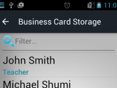Business Card Storage 6.0 Screenshot