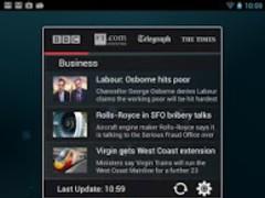 Business News Widget 1.1 Screenshot