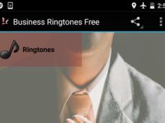 Business Ringtones Free 1.0 Screenshot