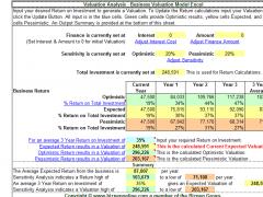 Business Valuation 7 Screenshot