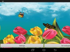 Butterfly Garden 3D Wallpaper 1.00.18 Screenshot